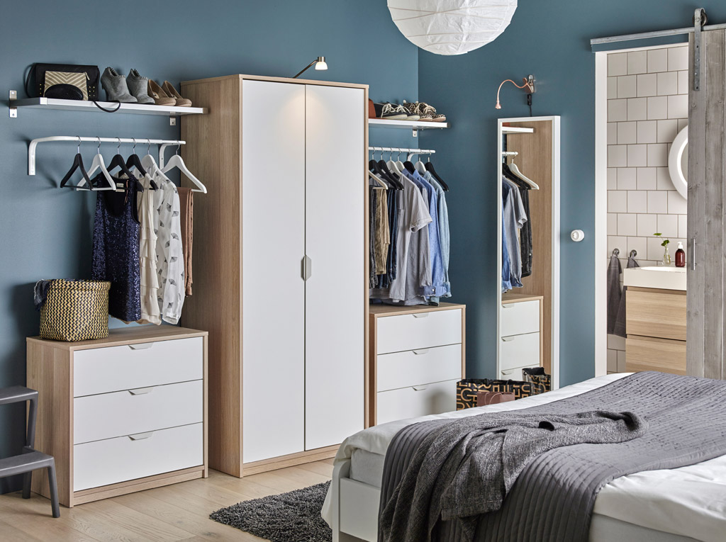 Things to consider when choosing the right wardrobe for your bedroom expert home improvement for Bedroom closet organizers ikea