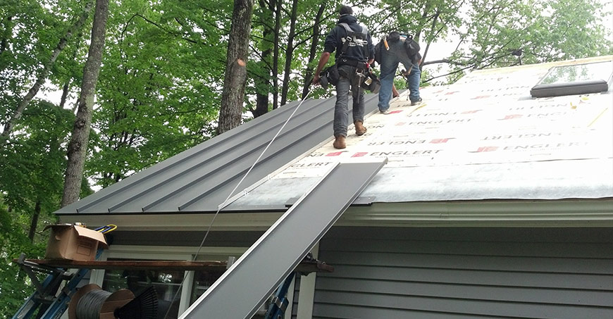 Tin Roof Installation : Is metal roof a good option for houses in michigan