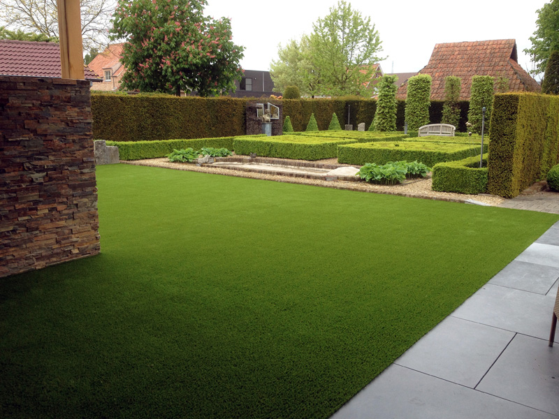 Why you should choose artificial grass gardens over real for Artificial grass garden designs