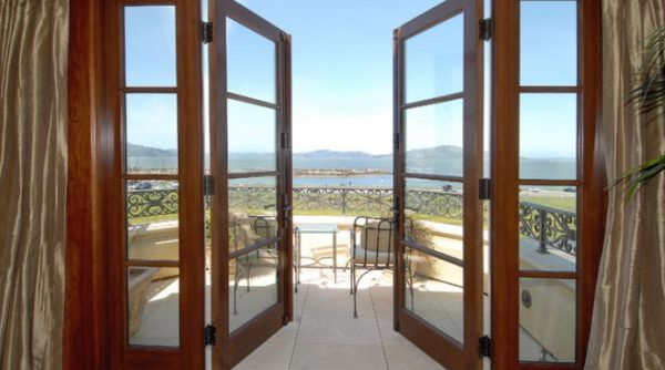 Open up your living area with french doors expert home for Modern french balcony